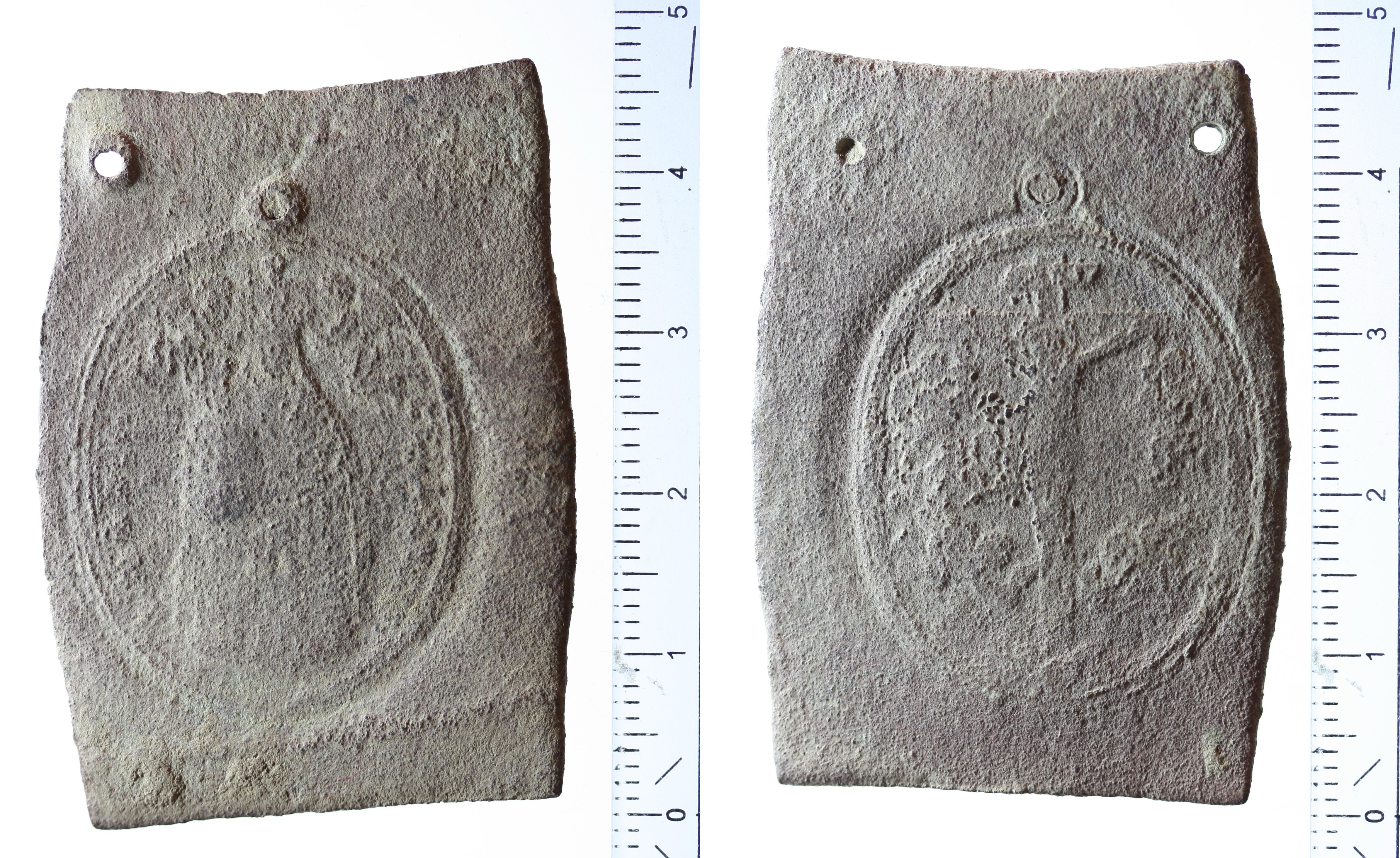 Medaille Maria Zell, unfertiges Werkstück
