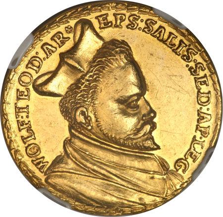 Wolf Dietrich 5 Dukat o.J. (1587)
